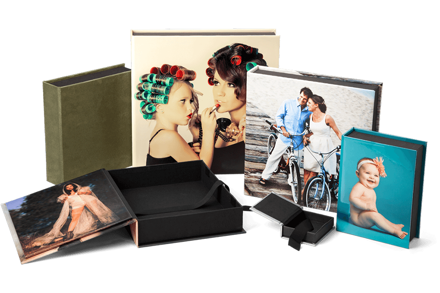 Image Boxes for Prints & Albums